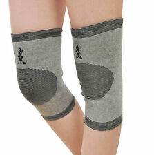 1x NEW Guard Kneecap Brace Bike 2016 Bamboo Support Knee Protector Charcoal Gym