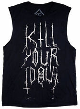 24HRS LIP SERVICE GOTHIC PUNK ROCKER KILL YOUR IDOLS TANK TOP CAMI SHIRT UNISEX