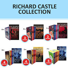 Nikki Heat Series Collection By Richard Castle Gift Wrapped Set Deadly Heat New