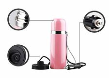 Vacuum Insulated Stainless Steel Travel Mug Car Cup Vehicle Thermos w/Cigarette