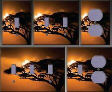 African Sky Wall Decor Light Switch Plate Cover