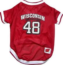 Wisconsin Badgers NCAA Dog Pet Sports Shirt Jersey (all sizes)
