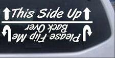 Flip Me Over Off Road Decal Car or Truck Window Laptop Decal Sticker 10X4.0