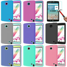"""Shockproof Heavy Duty Hard Hybrid Protect Case Cover For LG G PAD 8.0"""" Tablet"""