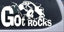 Got Rocks Off Road Decal Car or Truck Window Laptop Decal Sticker 4X4 8X4.3