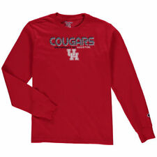 Houston Cougars Champion Youth Jersey Long Sleeve T-Shirt - Red - NCAA