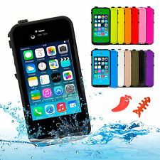 Waterproof Shockproof Dirt proof Durable Hard Case Cover for Apple iPhone 4S