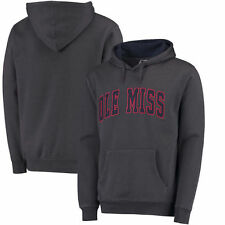 Ole Miss Rebels Colosseum Arch Pullover Hoodie - Charcoal - NCAA