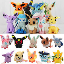 Rare Pokemon Collectible Plush Character Soft Toy Stuffed Dolls Teddy Xmas Gifts