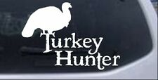 Turkey Hunter Car or Truck Window Laptop Decal Sticker Thanksgiving 5.2X7.5