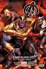 MARVEL NOW COMICS AVENGERS VOL 3 TIME RUNS OUT HC HARDCOVER JONATHAN HICKMAN