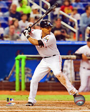 Donovan Solano Miami Marlins MLB Action Photo PQ199 (Select Size)