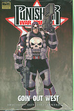 MARVEL COMICS PREMIERE EDITION PUNISHER WAR JOURNAL GOIN' OUT WEST HC HARDCOVER