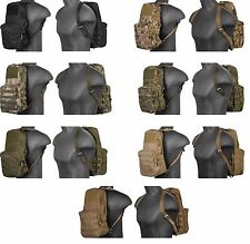 Lancer Tactical MOLLE Outdoor Hiking Hydration Backpack Light Weight Pack
