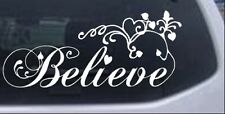 Christian Believe Wall Decal Car or Truck Window Laptop Decal Sticker 6X13.7