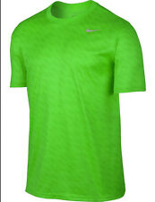 NIKE Mens NOVELTY LEGEND Dri-FIT Training T-Shirt ** ACTION GREEN ** NWT