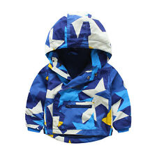 Toddler Kids Baby Boys outerwear Hooded coat Boys warm windcheater Clothing