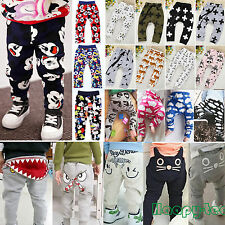 Infant Clothes Boys Girl Harem Long Pants Trousers Kid Children Leggings Bottoms