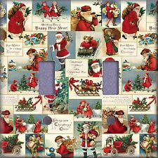 Christmas Best Wishes Happy New Year Light Switch Plate Cover Wall Decor