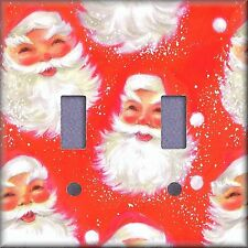 Christmas Santa Clause Light Switch Plate Cover Wall Decor
