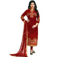 Designer PartyWear Bollywood Georgette Embroidered Salwar Kameez Suit-Shabd-2004