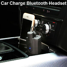 Wireless Bluetooth Car Charger Earbud Headset Stereo Sport For iphone Android C