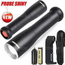 6000 Lumens X800 XM-L T6 LED Adjustable Focus Torch Zoom Flashlight 18650 HOT