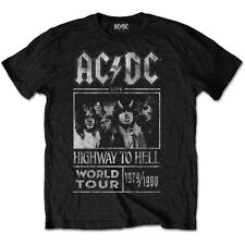 AC/DC Highway To Hell World Tour 1979/80 Men's Tee Shirt Special Edition