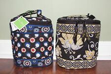 Vera Bradley NIGHT OWL or YELLOW BIRD Bottle COOL KEEPER Lunch Snack Case NEW