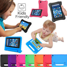 NEW Kids Shock Proof Handle Case Cover For Amazon Kindle Fire 7 5th Gen 2015 HD