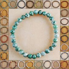 V3250-3278 Wholesale Gemstone Jasper Ball Bracelet 7''