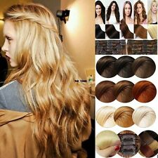 Best Quality 250G 100% Double Weft Clip in Real Remy Human Hair Extensions LD511