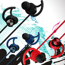 In-Ear Bass Music Stereo Hi-Fi Earbuds Sports Earphone & Mic Noise Cancelling