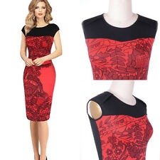 Sexy Women Summer Bodycon Slim Cocktail Party Evening Clubwear Pencil Dresses