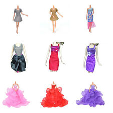 New Fashion Handmade Clothes Dress For Barbie Doll Different Style Beauty TB