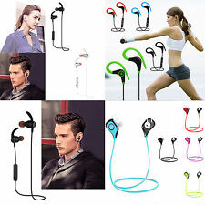 Magnet Bluetooth Wireless Headphone Stereo Sports Earbud In-Ear Headset Earphone