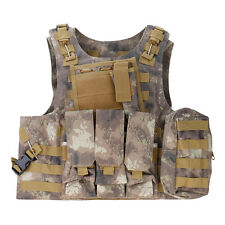 Tactical Outdoor SWAT Combat Assault Vest Airsoft Paintball Wargame Protector