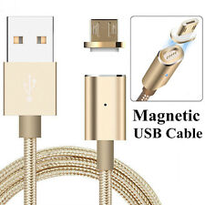 2.4A Magnetic Adapter Micro USB Cable Hi-Speed Charging For Android Phone