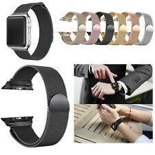 Milanese Magnetic Loop Stainless Steel Wrist Watch Band Strap For Apple Watch US