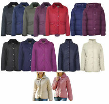 Ladies Champion Country Estate Zipped & Studded Quilted Coat Jacket