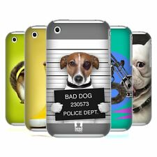 HEAD CASE DESIGNS FUNNY ANIMALS HARD BACK CASE FOR APPLE iPHONE 3G / 3GS