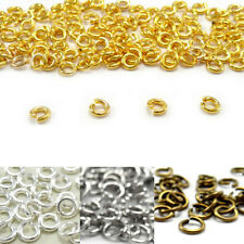 Wholesale 4/5/6/8/10/12/14mm Jump Ring Split One Coil the Connector New