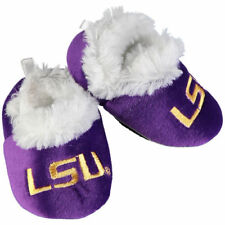 LSU Tigers Infant Baby Bootie Slippers - NCAA