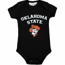 Oklahoma State Cowboys Infant Arch & Logo Bodysuit - Black - NCAA