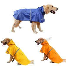 Dog Pet RainCoat Supply Jacket Puppy Outdoor Clothes Waterproof Hooded For gift