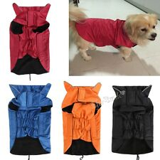 Waterproof Pet Dog Puppy Rain Coat Jacket Winter Padded Jacket Warm Vest Costume