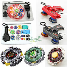 New Kid Beyblade 4D Metal Master Fusion Top Rapidity Fight Launcher Grip Set Toy