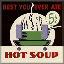 Best You Ever Ate Hot Soup 5¢ Light Switch Plate Cover Wall Decor