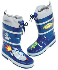 NEW Kidorable Space Aliens Boys Kids Toddlers Wellies Rain Boots Gumboots
