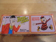 "CORGI TOYS ""THE BASH STREET KIDS"" DIECAST BUS AND VAN SET BOXED 1990 V.G.C."